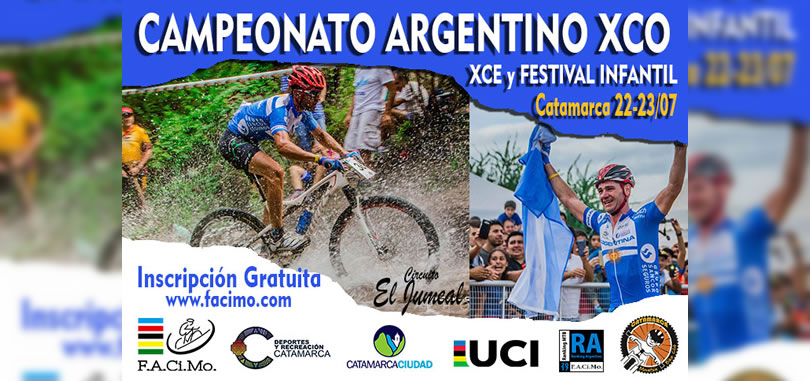 Campeonato Argentino XCO, XCE y Festival Infantil